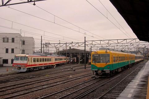 富山地鉄14760形&16010形@稲荷町'15.4.19