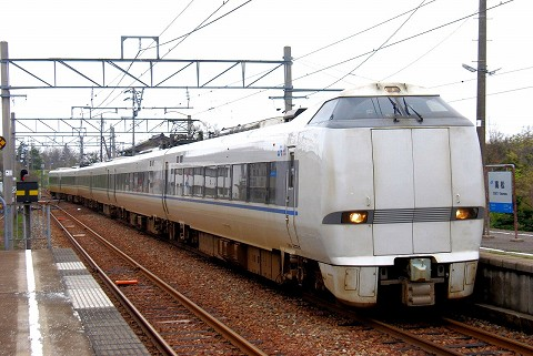 特急能登かがり火2号@高松'15.4.20