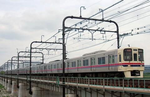 京王9000系@聖蹟桜ヶ丘'15.4.29