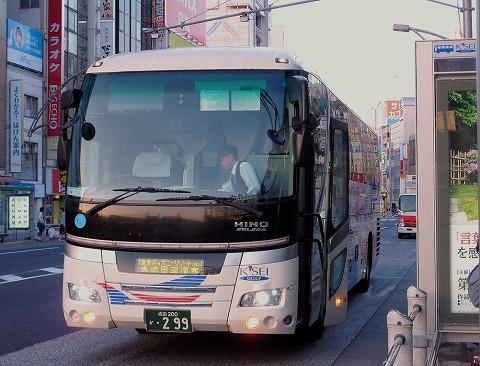 京成バス@京成上野駅前'15.5.6
