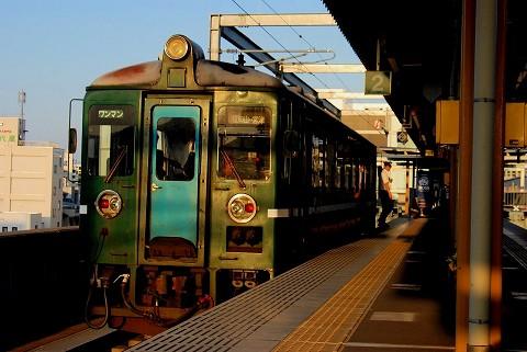京都丹後鉄道MF101@福知山'15.5.22