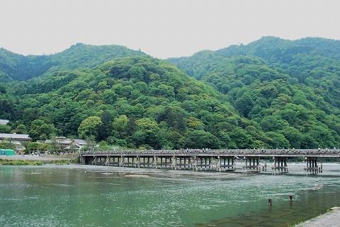 渡月橋@嵐山'15.5.23