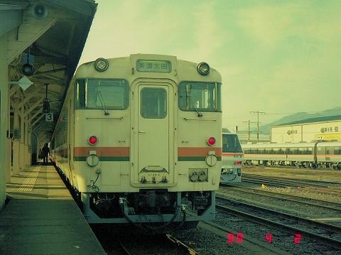 キハ48-3@高山'90.4.6