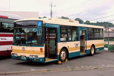 JRバス関東@茂木駅前'15.7.4-2