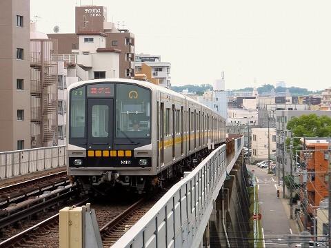 名古屋市営地下鉄N1000形@本郷'15.7.24