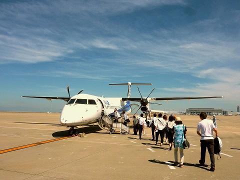 NHボンバルディアDHC-8ーQ400@中部国際空港'15.7.25