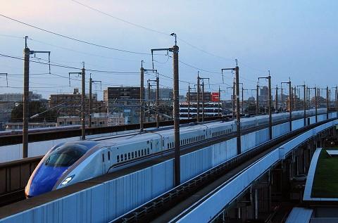 E7系@鉄道博物館'15.8.22