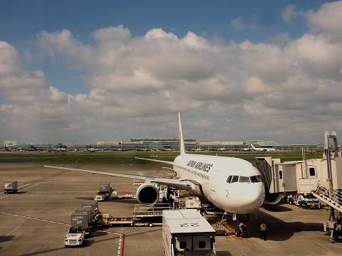 JLBoeing767‐300@羽田空港'15.8.23
