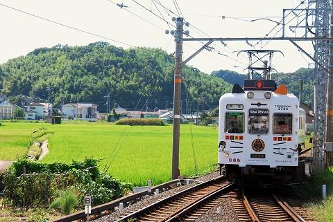 和歌山電鐵2270系@伊太祁曽'15.8.23-2