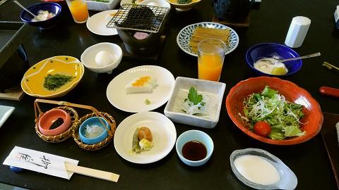 朝食@柳屋'15.8.24