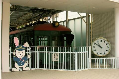 東急デハ510形@電車とバスの博物館'15.9.5