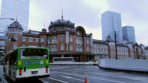 東京駅舎'15.9.7