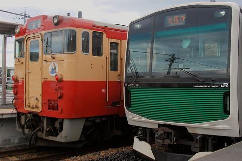 EV-E300系&キハ40系@大金'15.9.20