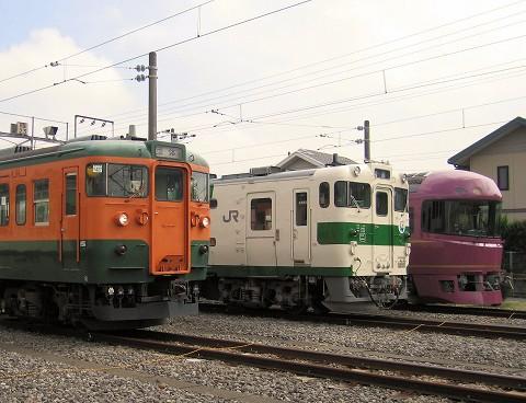 車両展示@小山車両センター'07.9.15