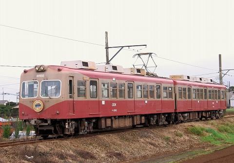 銚子電鉄2000形@犬吠'15.9.26