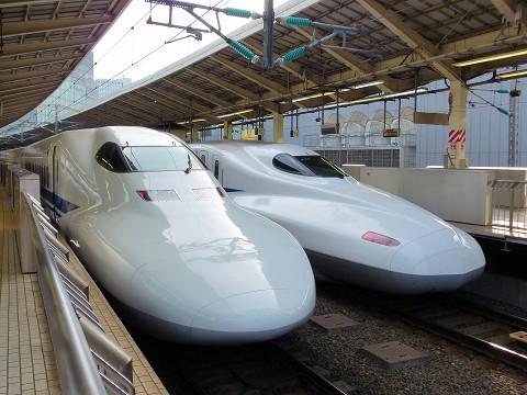 700系&N700系@東京'15.7