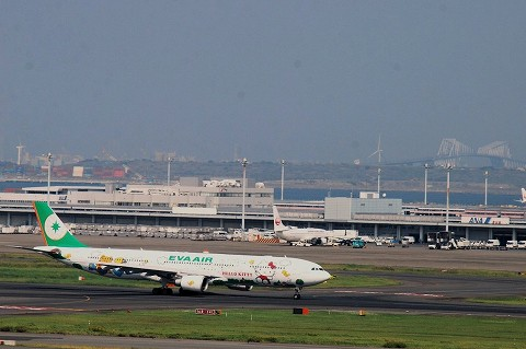 BRairbusA330‐300@羽田空港'15.10.12