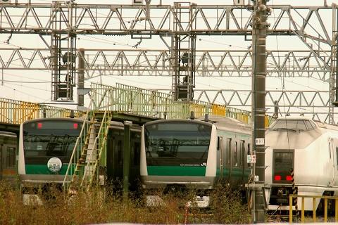 E233系&651系@川越車両センター'15.10.17