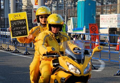 先導バイク@ツール・ド・フランスさいたまクリテリウム'15.10.24