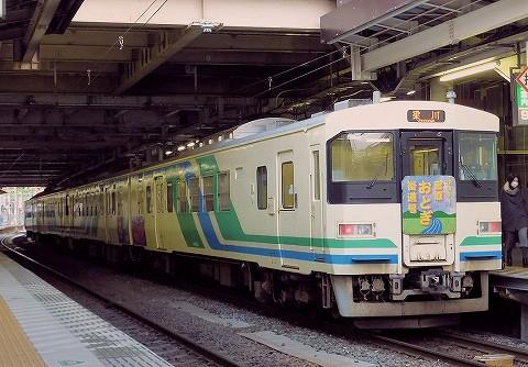 阿武隈急行8100系@仙台'16.1.9