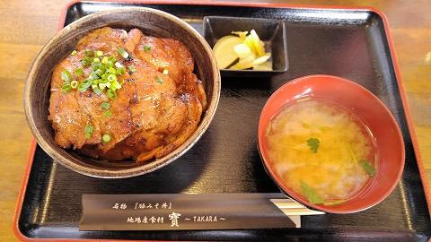 豚みそ丼@長瀞'16.2.6