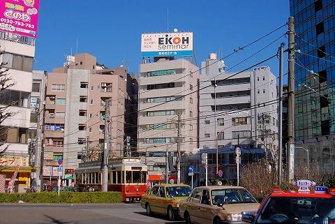 都電9000形@大塚駅前'16.2.7