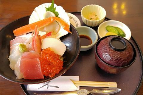 海鮮丼@日野治'16.3.5