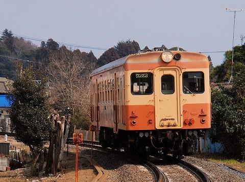 ひたちなか海浜鉄道キハ20形@那珂湊'16.3.5