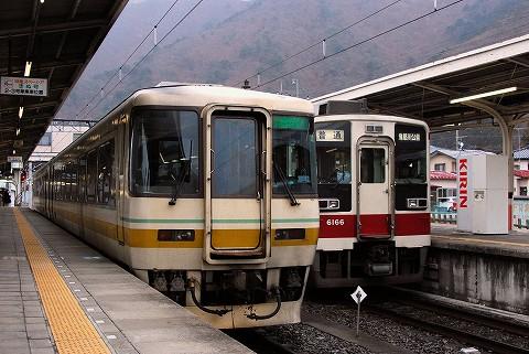 会津鉄道キハ8500系&東武6050系@鬼怒川温泉'10.3