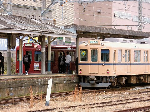 養老鉄道600系@大垣'16.3.18