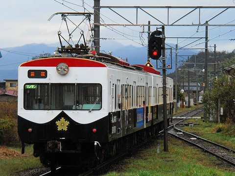 近江鉄道800系@鳥居本'16.3.19