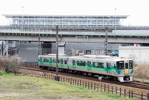 愛知環状鉄道2000系@八草'16.3.19
