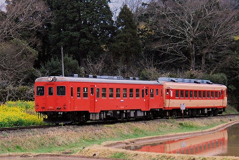 いすみ鉄道キハ52形@西畑'16.3.21