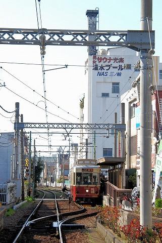都電9000形@三ノ輪橋'16.3.26-1