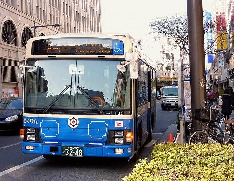 台東区循環バス@浅草'16.3.26