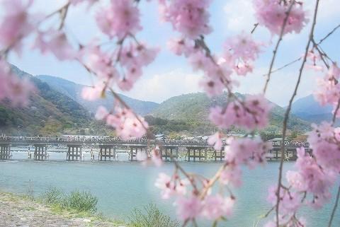 渡月橋@嵐山'16.4.9