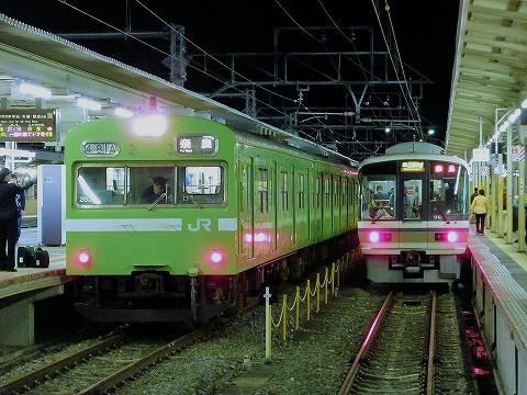 103系&221系@京都'16.4.9