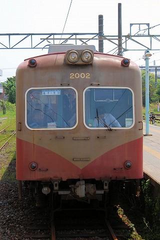 銚子電鉄2000形@銚子'16.5.3-1
