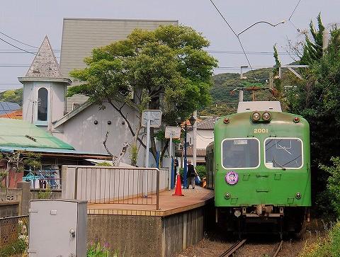 銚子電鉄2000形@観音'16.5.3