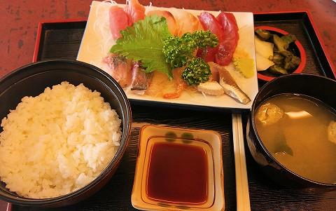刺身定食@銚子'16.5.3