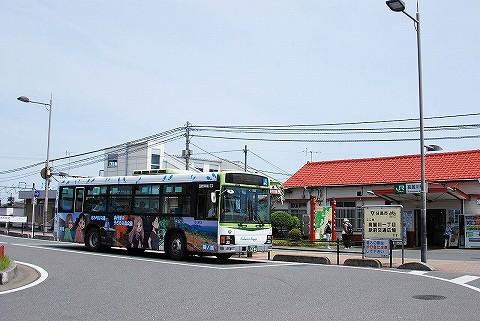 国際興業バス@高麗川'16.5.7