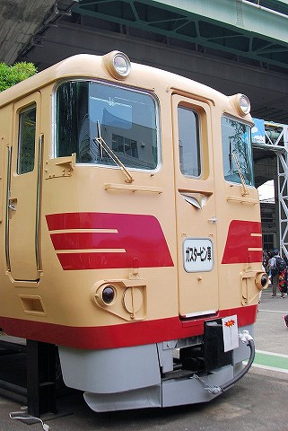 キハ391系カットモデル@大宮車両センター'16.5.28