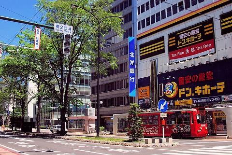 札幌市電220形@狸小路'16.6.5