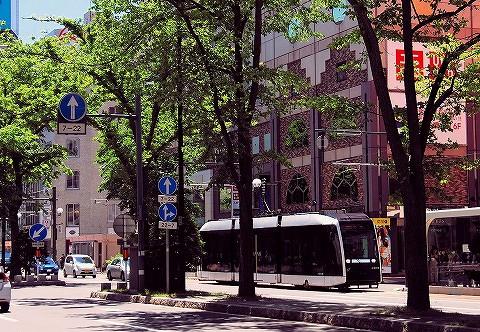札幌市電A1200形@西4丁目'16.6.5