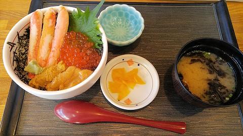 海鮮丼@どんぶり横丁市場'16.6.6