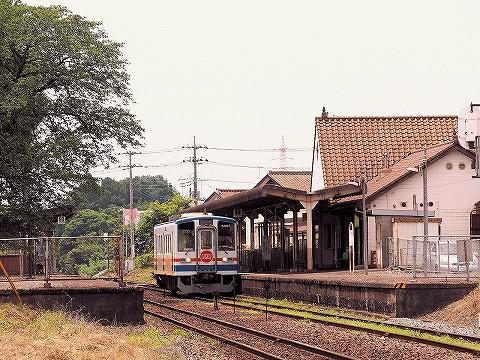 関東鉄道キハ5000形@小絹'16.6.26-1