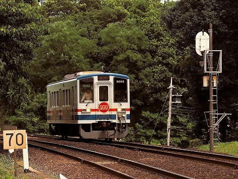 関東鉄道キハ5000形@小絹'16.6.26-2