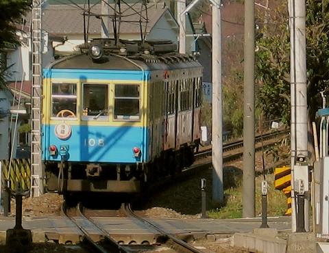 箱根登山鉄道モハ2形@箱根板橋'06.3.4