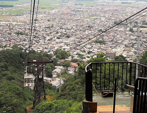 八幡山からの眺め'16.7.18-3