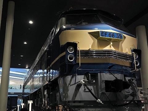 EF66‐35@京都鉄道博物館'16.7.19